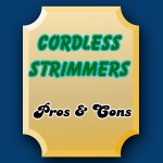 cordless strimmers pros and cons