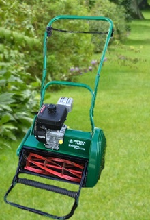 self propelled cylinder lawn mower