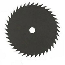 metal blade strimmer saw tooth type